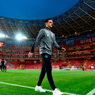 Declan Rice prior to the International Friendly match between Turkey and Republic of Ireland at Antalya Stadium in Antalya, Turkey
