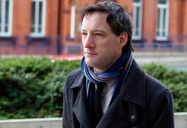 John Tighe (40) of Lavallyroe, Ballyhaunis, Co Mayo, pictured arriving to the Central Criminal Court in Dublin.Pic Collins Courts