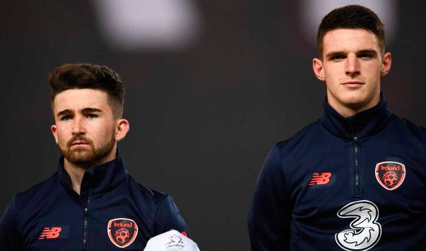Declan Rice and Seanie Maguire made first starts for Ireland in Turkey