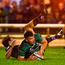 Tom Farrell scores Connacht's second try despite the efforts of Edinburgh's Chris Dean. Photo: Diarmuid Greene/Sportsfile
