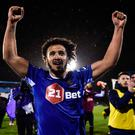 Bastien Héry of Waterford celebrates following his side's victory