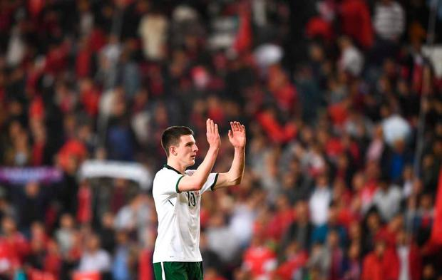Declan Rice made a big impression on his Ireland debut