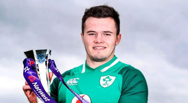 Jacob Stockdale: Next target. Photo: Dan Sheridan/INPHO