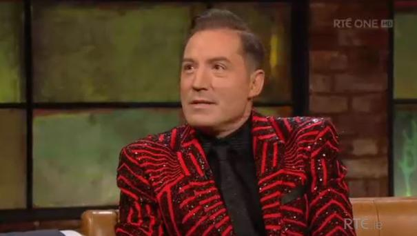 Julian Benson spoke out about living with CF on The Late Late Show