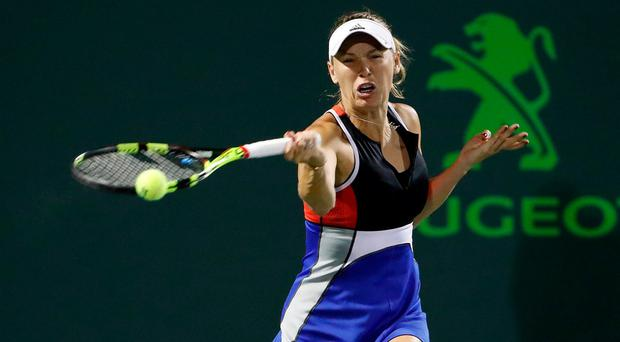 Wozniacki claims she received verbal abuse at Miami Open