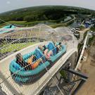 Verrückt became the tallest water slide in the world when it opened in 2014 AP