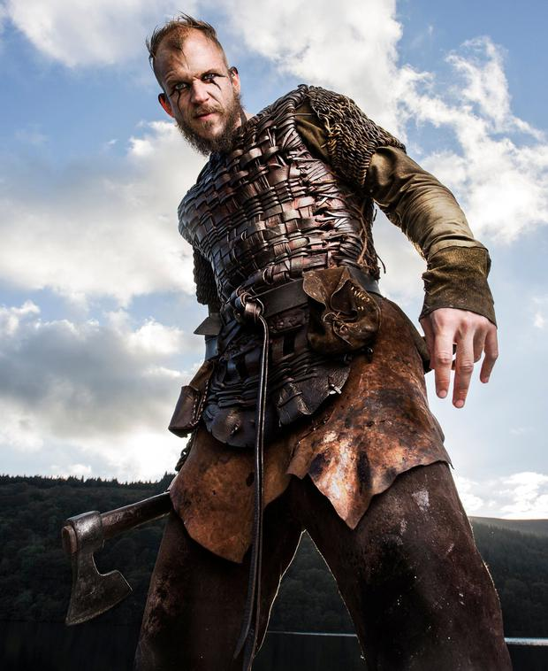 Joe O'Connell, the Wicklow entrepreneur who owns Ashford Studios, is planning to fund its €90m expansion himself. A number of series, including Vikings (pictured) are filmed at the location