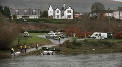 River Rescue and Civil Defence search for Elisha Gault on the river in Carrick-on-Suir last week