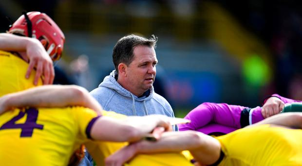 Wexford manager Davy Fitzgerald ahead of the Allianz Hurling League Division 1 quarter-final match between Wexford and Galway at Innovate Wexford Park in Wexford. Photo by Sam Barnes/Sportsfile