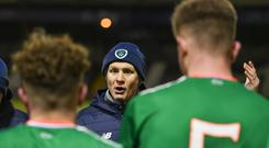 Colin O'Brien's team have qualified for a major tournament