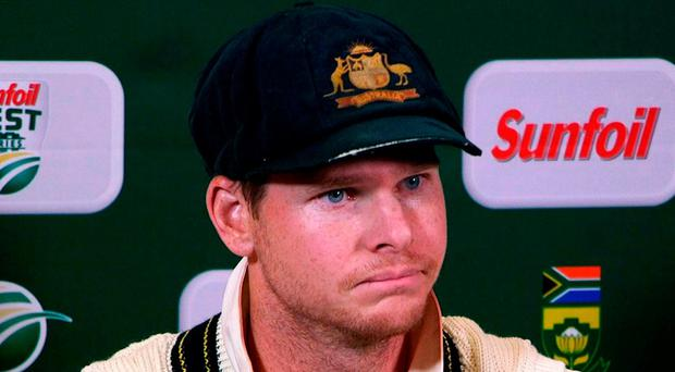 A shadow has been cast over Australia captain Steve Smith, the world's best batsman. Photo: AFP/Getty Images