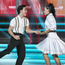 Singer Jake Carter and Karen Byrne ,during the Final of RTE's Dancing with the Stars. Pic: kobpix