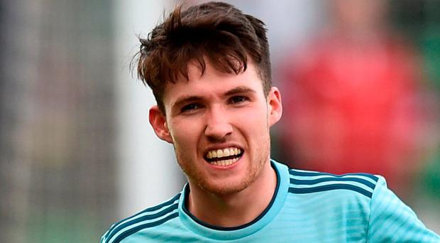 Northern Ireland's Paul Smyth. Photo: Charles McQuillan/Getty Images