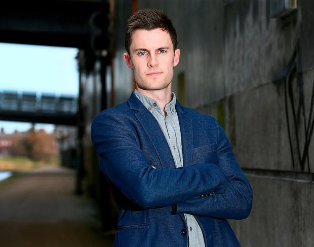 Dave O'Connor is looking to build a career for himself outside of football. Photo: Frank Mc Grath