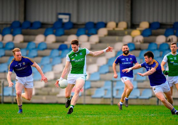 Fermanagh's Eoin Donnelly lines up a shot. Photo: Eóin Noonan/Sportsfile