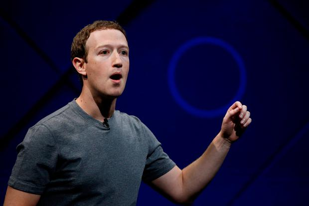 Facebook founder and chief executive Mark Zuckerberg. Photo: Reuters