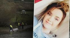'My beautiful, funny, intelligent baby' - Elisha's mother, Gráinne, has thanked the hundreds of search volunteers