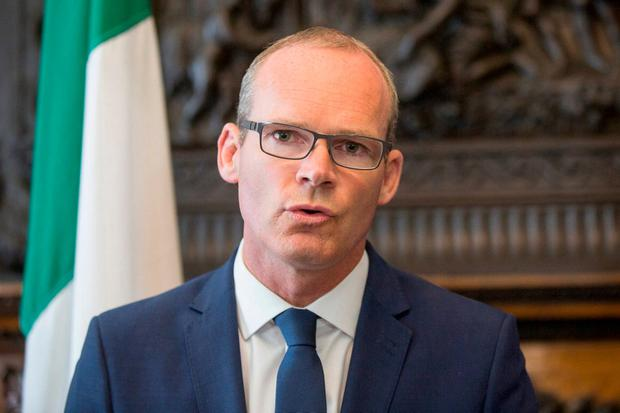 Tánaiste Simon Coveney. Photo: Mark Condren