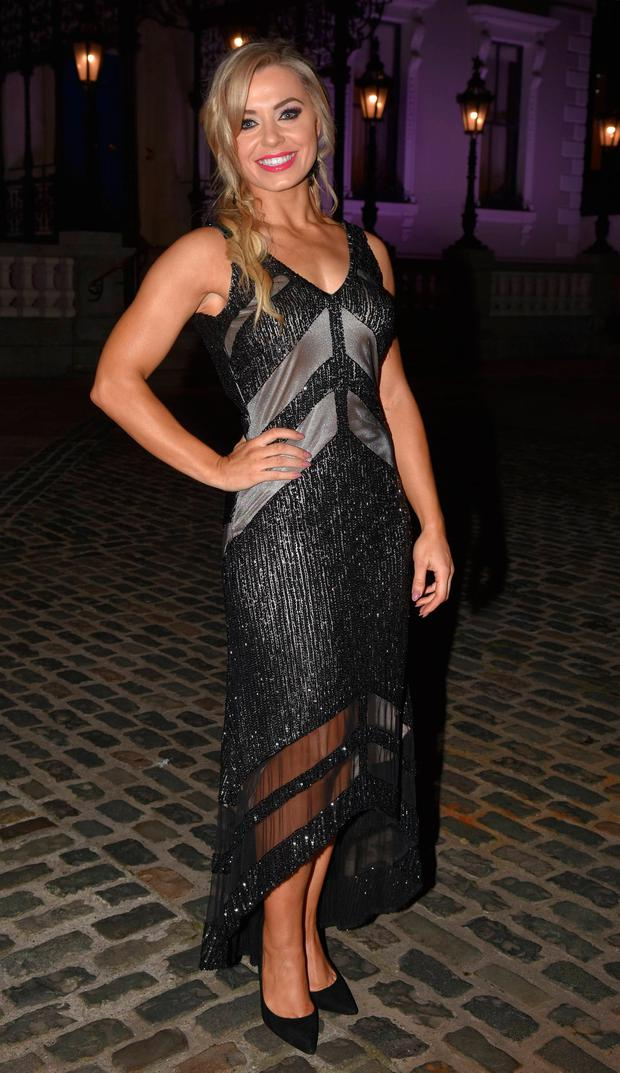 Anna Geary at the Xpose Benefit Awards 2018