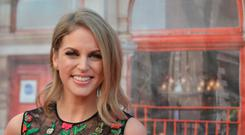 Amy Huberman attends the 2016 IFTA Film & Drama Awards at Mansion House in Dublin