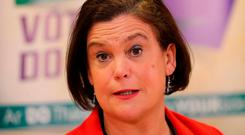 Sinn Féin leader Mary Lou McDonald Photo: Niall Carson/PA Wire