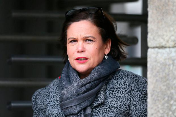 Mary Lou McDonald. Photo: Frank McGrath