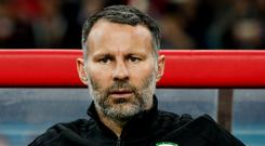 Wales manager Ryan Giggs. Photo: Reuters