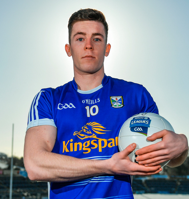 Cavan captain Dara McVeety. Photo: Sportsfile