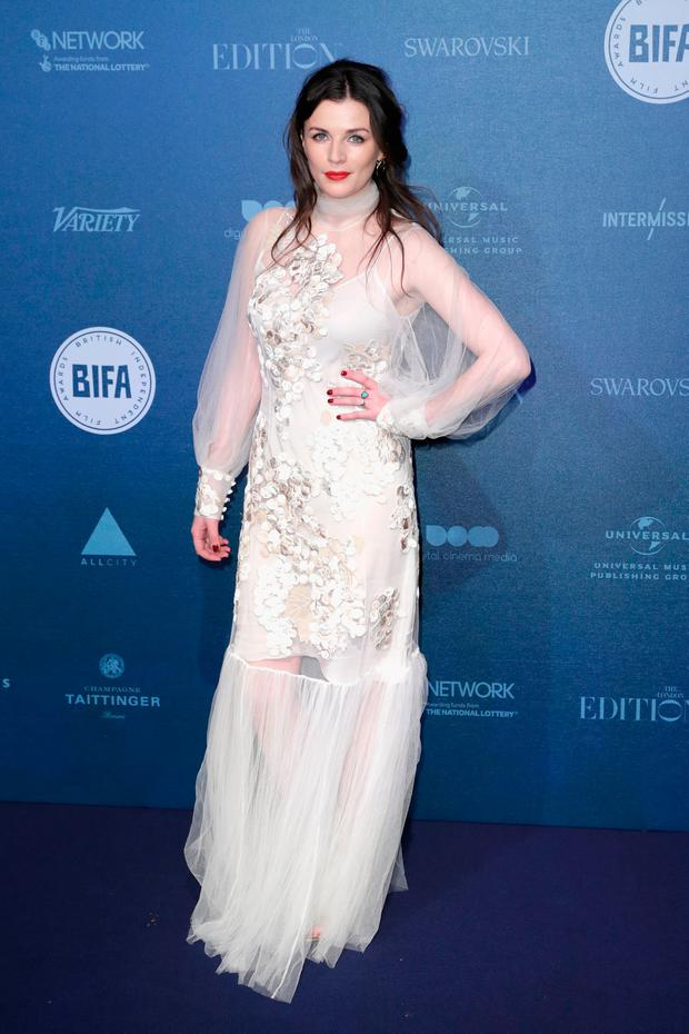 Aisling Bea attends the British Independent Film Awards held at Old Billingsgate on December 10, 2017 in London, England. (Photo by John Phillips/Getty Images)