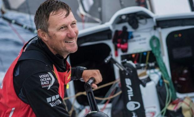 Rescuers said that hopes of finding crewman John Fisher alive were slim. CREDIT: JEREMIE LECAUDEY /VOLVO OCEAN RACE