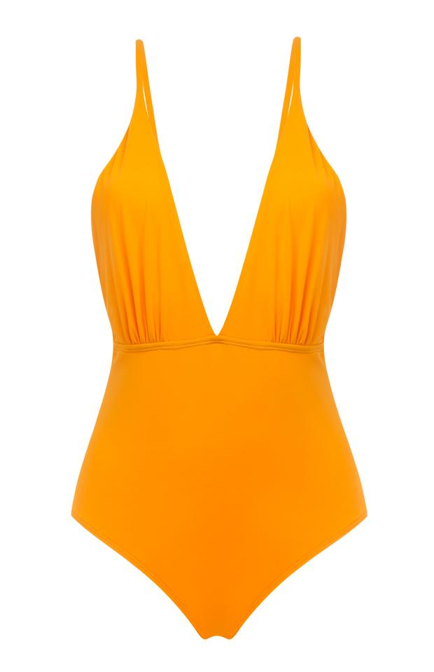 Plunging swimsuit, €10