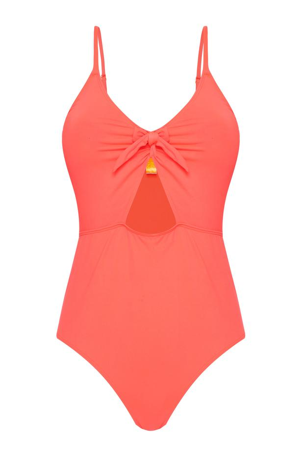 Cut-out swimsuit, €14
