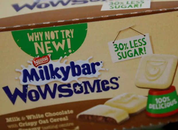 Launched back in 1936, the Milkybar is one of Nestle's most iconic products in the UK. Photo: Reuters
