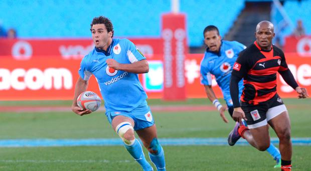 PRETORIA, SOUTH AFRICA - MAY 04: Dries Swanepoel of Blue Bulls during the Vodacom Cup Quarter Final match between Vodacom Blue Bulls and Eastern Province Kings at Loftus Versveld on May 04, 2013 in Pretoria, South Africa. (Photo by Lee Warren/Gallo Images)