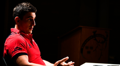 Ian Keatley believes his Munster team can rediscover some of their past glories. Photo: Sportsfile