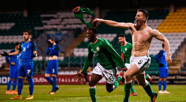 Shaun Donnellan scores late victor for Republic of Ireland Under-21s