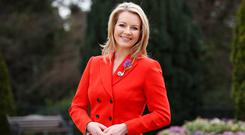 RTÉ broadcaster Claire Byrne, who is an ambassador for the Irish Kidney Association, urged people to have a conversation with their loved ones about the issue of organ donation after their death. Photo: Conor McCabe