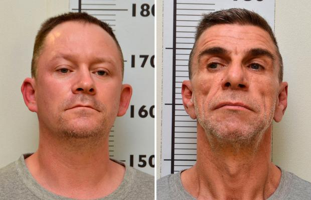 Undated handout comp of photos issued by Northumbria Police of Stephen Unwin (left) and William McFall who have been been convicted at Newcastle Crown Court for the murder of Quyen Ngoc Nguyen Photo: Northumbria Police/PA Wire