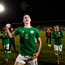 27 March 2018; Declan Rice of Republic of Ireland celebrates following the UEFA U21 Championship Qualifier match between the Republic of Ireland and Azerbaijan at Tallaght Stadium in Dublin. Photo by Stephen McCarthy/Sportsfile