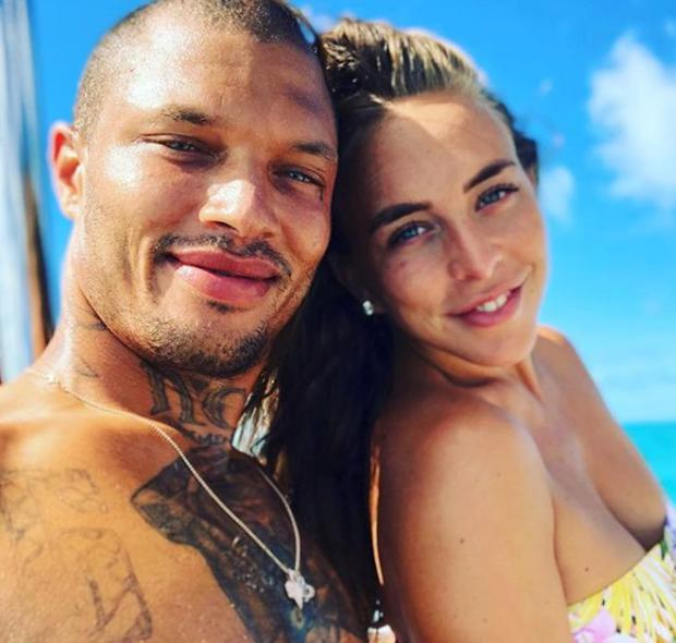 Chloe Green and Jeremy Meeks. Picture: Instagram