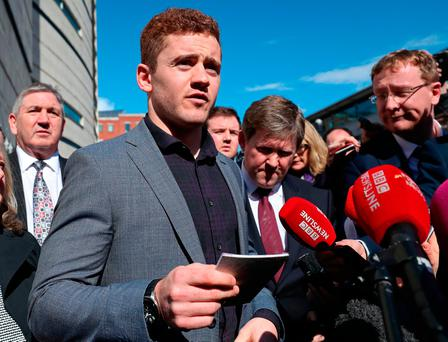 Juror in Paddy Jackson rape trial faces arrest for online debate