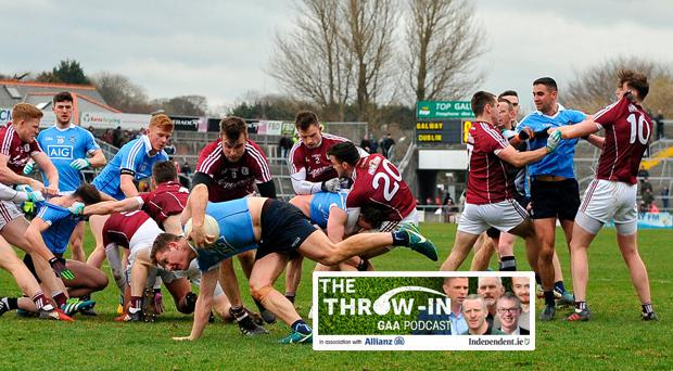 Dublin and Galway meet in the League final on Sunday
