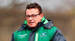 Connacht head coach Kieran Keane. Photo: Seb Daly/Sportsfile