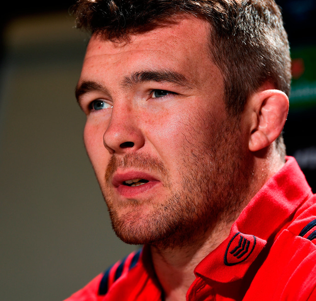 Peter O'Mahony would not be fazed by wearing the No 7 shirt against Toulon. Photo: Diarmuid Greene/Sportsfile