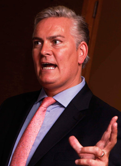 Tony O'Reilly, chief executive of Providence Resources