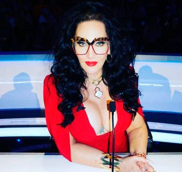 Michelle Visage in 'that dress'