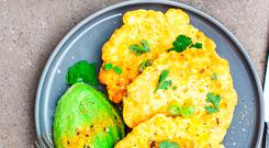 Indy Power's Sweetcorn fritters
