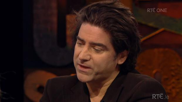 Brian Kennedy on Cutting Edge, RTE One