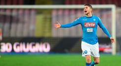 Jorginho of SSC Napoli