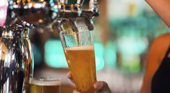 Pubs are opening for the first time since 1927 on Good Friday (stock photo)